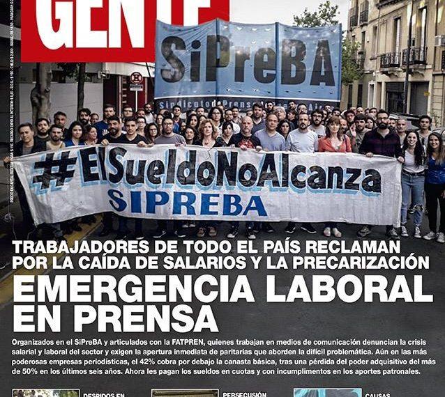 Editorial Atlántida: El SiPreBA repudia una nueva maniobra empresaria para forzar un despido encubierto