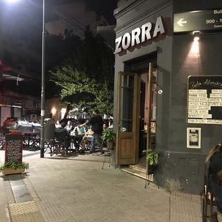 Zorra Bar - Beneficio SiPreBA - Instagram