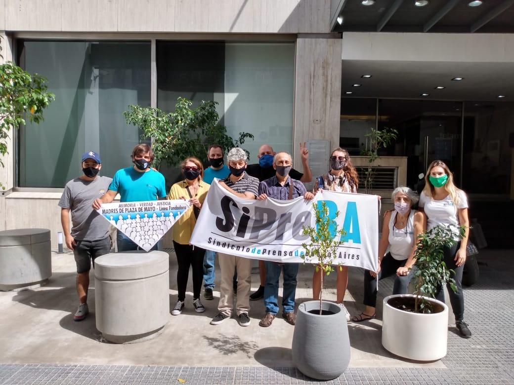 Plantamos Memoria en Agencia Télam - SiPreBA a 45 años del Golpe Genocida - 24/3/21