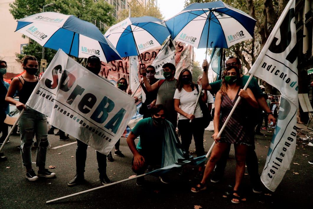 Marcha del Encuentro Memoria, Verdad y Justicia - SiPreBA a 45 años del Golpe Genocida - 24/3/21