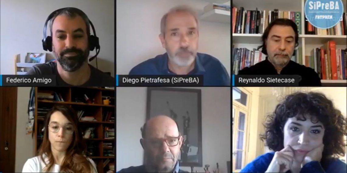 """El SiPreBA debatió sobre """"los desafíos del periodismo: esencial pero en crisis"""""""